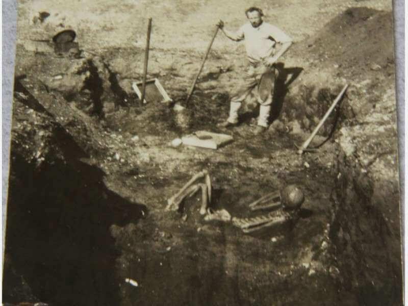 Large Skeleton with Ralph Glidden