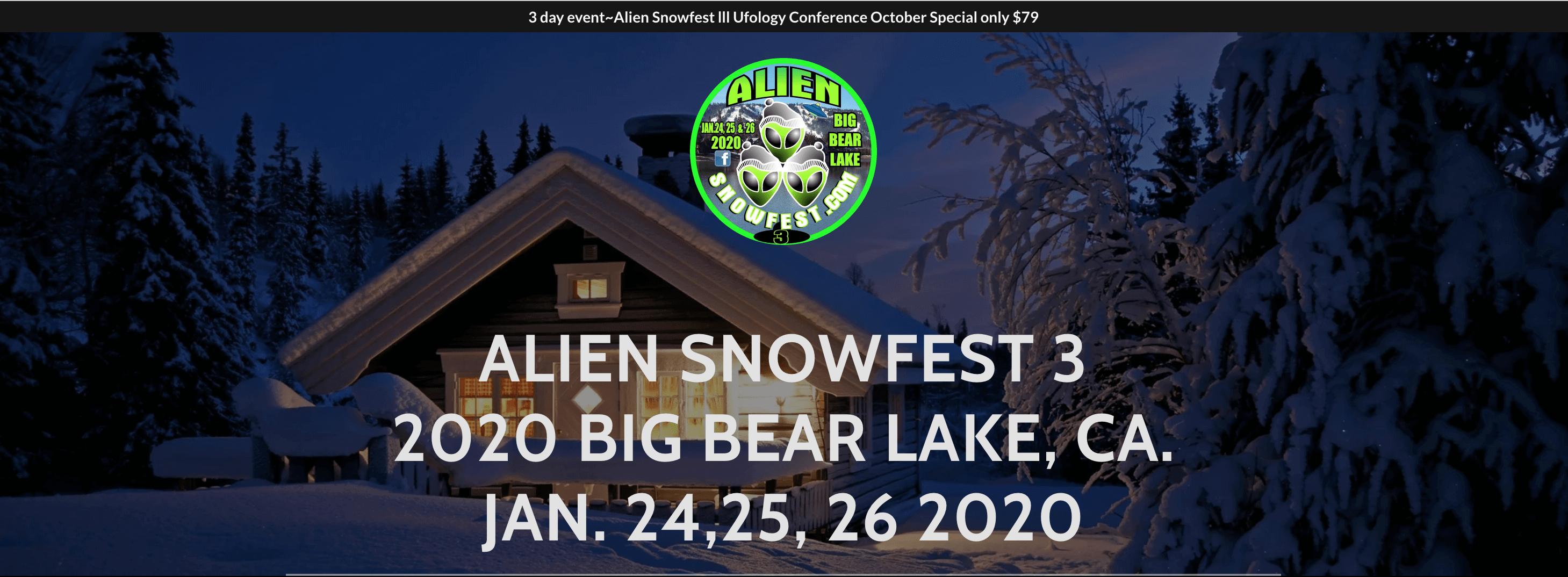 Alien Snowfest 3